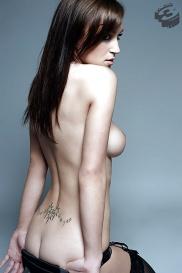 Lesbische tatowierte Mädchen